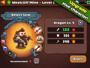 تصویر محیط Mine Quest 2 – Mining RPG v2.2.12