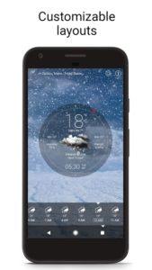 تصویر محیط Weather Live v6.36.0