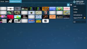 تصویر محیط PPSSPP Gold – PSP emulator v1.8.0