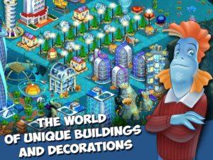 تصویر محیط Aquapolis. Free city building! v1.48.4