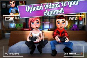 تصویر محیط Youtubers Life: Gaming Channel v1.5.10 + data