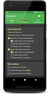 تصویر محیط KinScreen v5.5.1