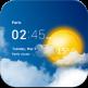 ویجت ساعت و آب و هوا اندروید Transparent clock weather Pro v1.39.02