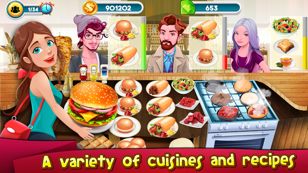 Cooking Games Kitchen Rising : Cooking Chef Master v1.19