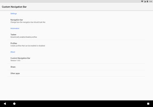 Custom Navigation Bar v1.0.0rc