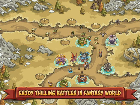 Empire Warriors TD: Defense Battle (Tower Defense) v0.4.9