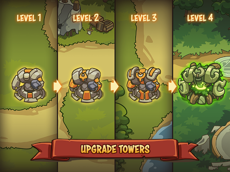 Empire Warriors TD: Defense Battle (Tower Defense) v0.6.6