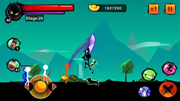 Stickman Ghost: Ninja Warrior v1.15