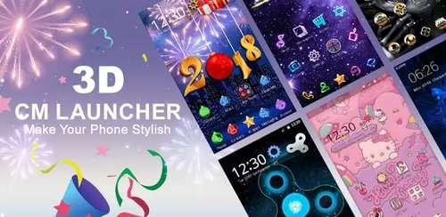 CM Launcher 3D – Theme,wallpaper,Secure,Efficient v5.19.2