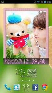 تصویر محیط Animated Photo Widget + v9.6.0