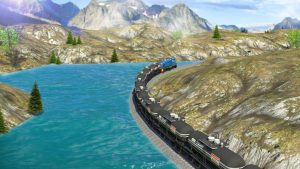 تصویر محیط Oil Tanker Train Simulator v1.4