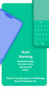 تصویر محیط Chrooma Keyboard – RGB & Chameleon Theme v5.1.1