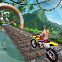 بازی موتور سواری به سبک پلتفرمر آیکون