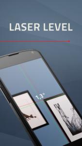 تصویر محیط Laser Level v1.5.01