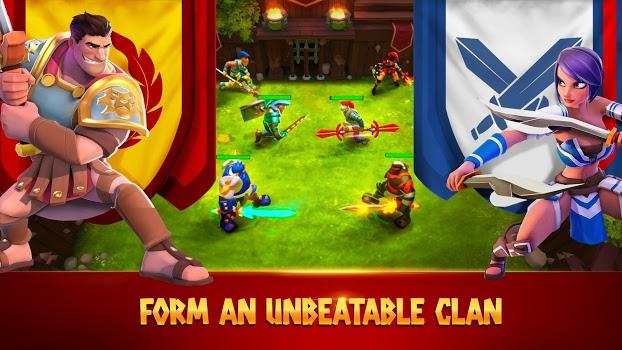 Gladiator Heroes: Clan War Games v2.3.5 + data