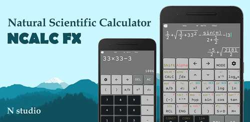 Natural Scientific Calculator N+ FX 570 ES/VN PLUS v2.3.0