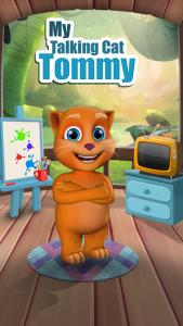 تصویر محیط My Talking Cat Tommy v1.4.2