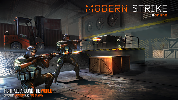 Modern Strike Online – FPS Shooter! v1.24.2 + data
