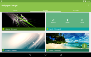 تصویر محیط Wallpaper Changer Premium v4.8.9