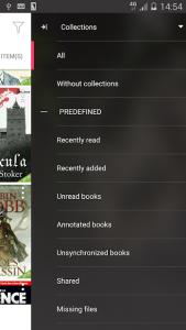 تصویر محیط Bookari Ebook Reader Premium v4.2.4 build 470