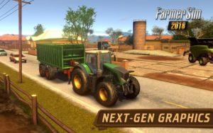 تصویر محیط Farmer Sim 2018 v1.8.0 + data