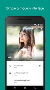تصویر محیط Smart Contacts v4.0