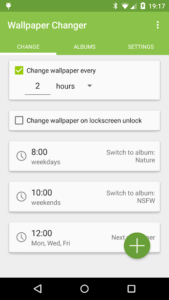 تصویر محیط Wallpaper Changer Premium v4.8.13