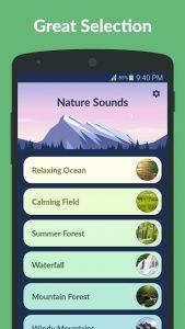تصویر محیط Nature Sounds v3.5.0