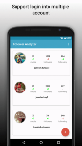 تصویر محیط Follower Analyzer for Instagram v7.4.3