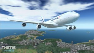 تصویر محیط Flight Simulator 2017 FlyWings Free v6.1.0 + data
