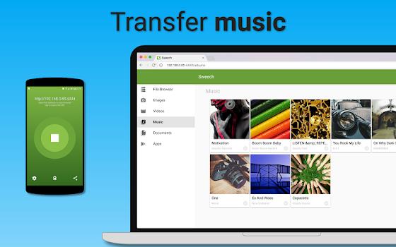 Sweech – Wifi File Transfer v21
