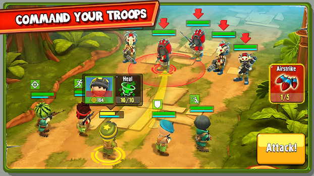 The Troopers: minions in arms v1.2.5 + data