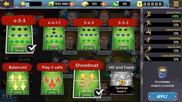 Underworld Soccer Manager 18 v4.6.0
