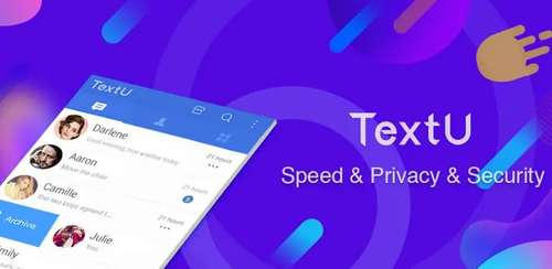 TextU – Private SMS Messenger, Call screening v3.3.6