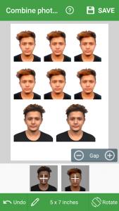 تصویر محیط Passport Photo Maker – VISA/Passport Photo Editor v5.4.3