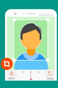 تصویر محیط Passport Size Photo Maker – ID Photo Application v1.3.16