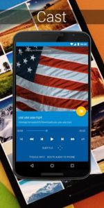 تصویر محیط LocalCast for Chromecast, Roku, stream phone to TV v33.1.2.6