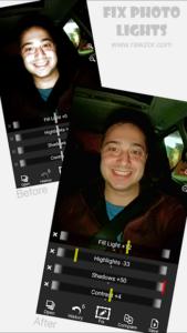 تصویر محیط Rawzor Fix Photo v2.0.70