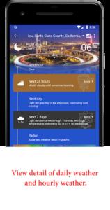 تصویر محیط Now Weather Pro v2.20.01.02