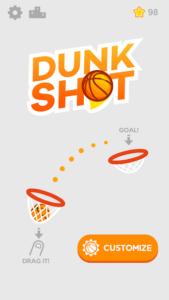 تصویر محیط Dunk Shot v1.4.6