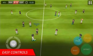 تصویر محیط Mobile Soccer League v1.0.26