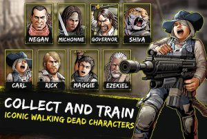 تصویر محیط The Walking Dead: Road to Survival v21.0.7.79614 + data