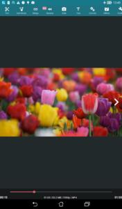 تصویر محیط AndroVid Pro Video Editor v4.1.4.6