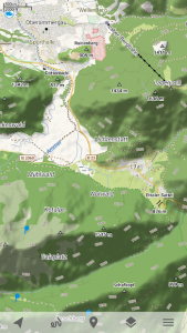 تصویر محیط Trekarta – offline maps for outdoor activities v2020.09