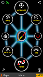 تصویر محیط GPS Waypoints Navigator v9.07