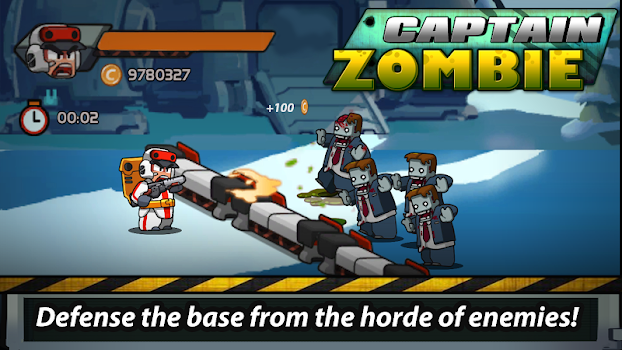 Captain Zombie Shooting Game v1.50