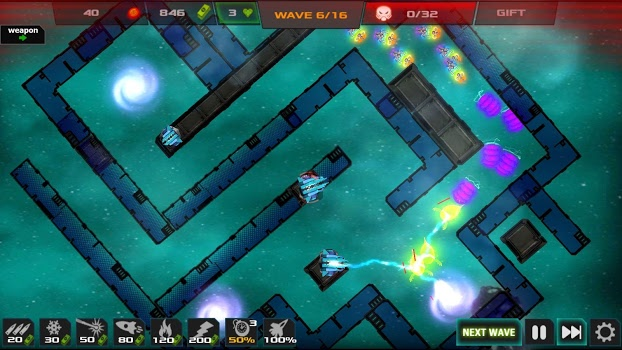 Strategy – Galaxy glow defense v1.1.3