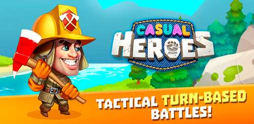 Casual Heroes – turn-based strategy v1.3.9