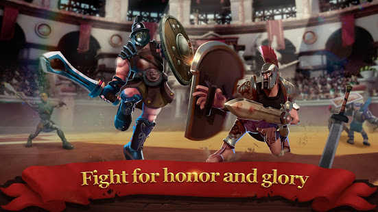 Gladiator Heroes: Clan War Games v2.4.4 + data