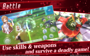 تصویر محیط Sword Art Online: Integral Factor v1.7.1